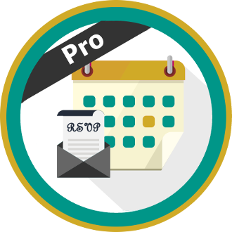 Registrations for the Events Calendar Pro logo